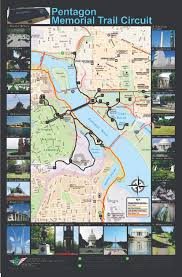 Map Of Washington Dc Monuments by Pentagon Memorial Trail Circuit The Washington Post
