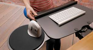 keyboard mount for desk shop uplift switch keyboard trays human solution