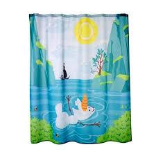 Bathroom Accessories Walmart Com by Disney Frozen Olaf Shower Curtain Kids Bathroom Accessories