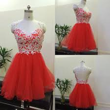 online get cheap red cocktail dresses images aliexpress com