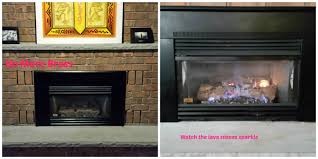 gas fireplace update diy u2013 the joys of jodi