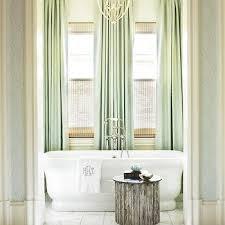 seafoam green damask drapes design ideas