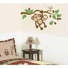 Nursery Monkey Wall Decals Monkey Wall Decals Theme Design Idea And Decorations Monkey