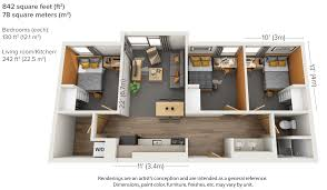 Floor Plans For Apartments 3 Bedroom by Leases U0026 Rates U2013 Housing U0026 Dining Services
