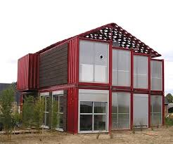 Building a House Out of Shipping Containers The Lille Red Shipping
