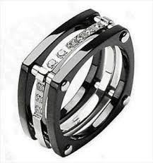 mens black titanium wedding rings mens titanium wedding bands ebay