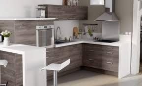cuisine bois gris cuisine ikea blanche et bois gallery of idud cuisine gris et blanc