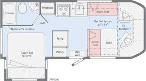 class b rv floor plans winnebago floor plans class b blitz blog