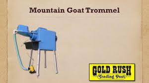 homemade gold trommel design mountain goat trommel youtube