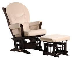 glider and ottoman cushions amazon com dutailier sleigh glider and ottoman combo espresso