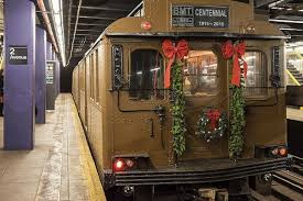 subway thanksgiving point mta u0027s vintage subway cars and buses reappear to spread holiday
