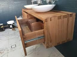 Timber Bathroom Vanity Bowl Vanity Unit4 Timber Furniture Sydney