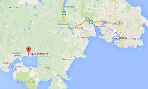 Victoria Bc Map Sunny Shores Resort Visitor In Victoria