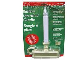 battery operated window candles with timer