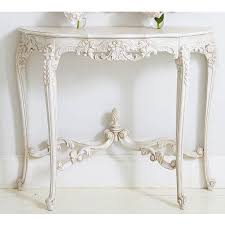 distressed white console table rustic antique white console table or sofa in ideas 9