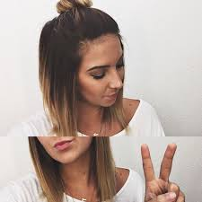 ombre for shorter hair best 25 short ombre ideas on pinterest short balayage balayage