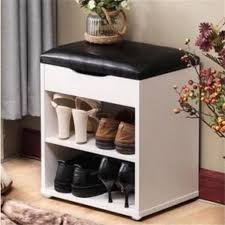 40 30 45cm multifunction shoes storage stool modern shoes changing