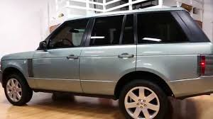 green land rover 2008 land rover range rover hse for sale rare lucerne green dual