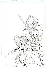 wizard 131 thundercats cover by ed mcguinness ft lion o
