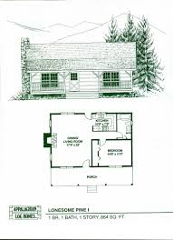 plans for cabins log home package kits log cabin kits lonesome pine i model