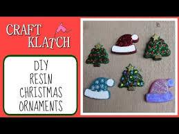 easy resin ornaments craft klatch series