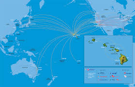South African Airways Route Map by Hawaiian Airlines Route Map Route Maps Pinterest Hawaiian