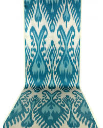 Blue Upholstery Fabric Blue Ikat Fabric By The Yard Blue And Yellow Ikat Upholstery