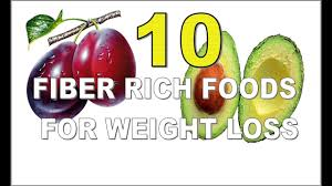 10 best fiber rich foods for weight loss youtube