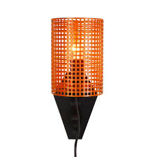 wall lights without wiring wall lights without wiring lovely orange and black metal wall light