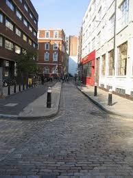 file cobbled in the city of geograph org uk
