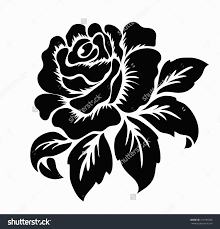 stock images similar to id 105804587 two roses black and white