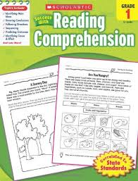 scholastic success with reading comprehension grade 2 scholastic