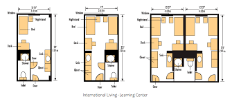 room floor plans illc housing dining services oregon state