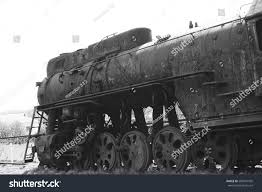 rusty train abandoned old locomotive rusty train retro stock photo 580241935