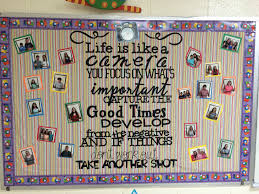 life is like a camera inspiring bulletin board home schooling