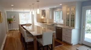long kitchen island designs beautiful interior long narrow kitchen island with mandrinhomes com