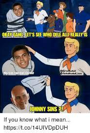 Johnny Football Meme - okay gang let s see who dele alli reallyis ftrollfootball marcos