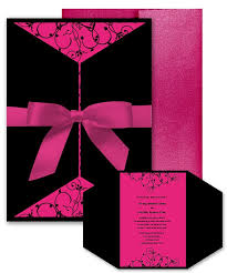 pink wedding invitations wedding invitations hot pink the wedding specialiststhe wedding
