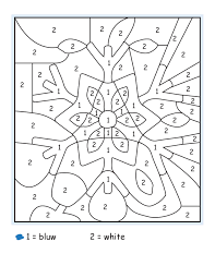 100 ideas free color by number winter pages on spectaxmas download