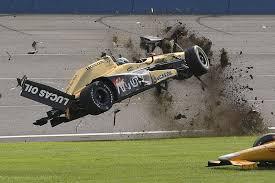 ryan briscoe schmidt peterson motorsports honda in huge crash at