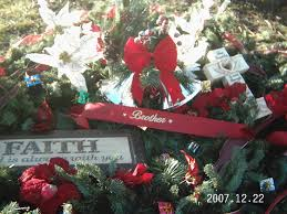 grave blankets grave blanket with christmas garland grapevine