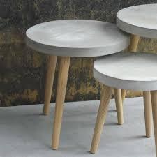 wandregale betonoptik beistelltisch midium in beton optik wohnen de