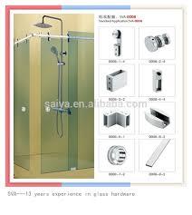 bathroom sliding glass shower door hardware buy sliding door