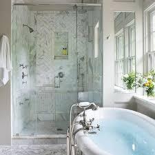 Bathtub Shower Ideas Master Bath Shower Ideas Transitional Bathroom Pritchett And