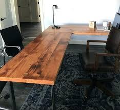 rustic l shaped desk industrial looking desk rustic l shaped desk for house design