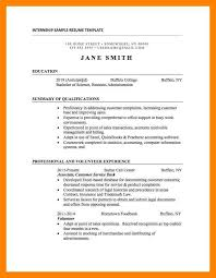 Sample Resume For Accounting Internship 100 Accounting Internship Resume Internship Resume