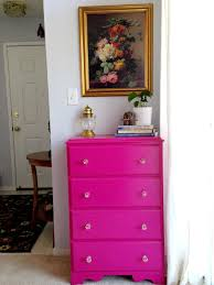 what colors go good with pink weekend tweaks dresser makeover pink