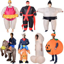 Sumo Halloween Costume Inflatable Costume Fancy Dress Sumo Cowboy Bull