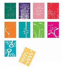 postkarten designen postkarten set city flowers 10 stück s wert design shop