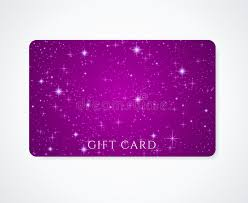 gift cards at a discount gift card discount card business card stock vector